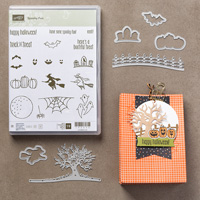 VIDEO: Stampin' Up! Bath and Body Works Hand Sanitizer Halloween Holder using the Spooky Fun Stamp Set